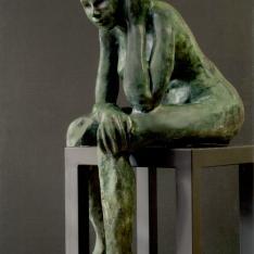 Figura assorta – bronzo, 2003 (in Piazza Malatesta a Verucchio - RN)